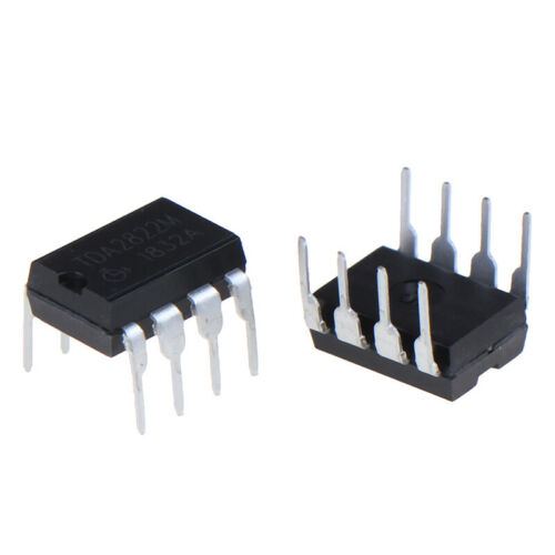 10x TDA2822M multipurpose and original IC audio power amplifiers inline DIP-8 qv