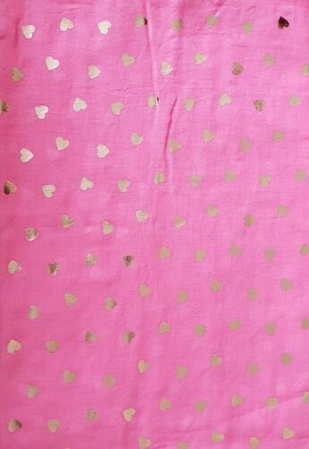 Heart Print Scarf Women/'s Love Rose Gold Glitter bleu rose gris moutarde rose