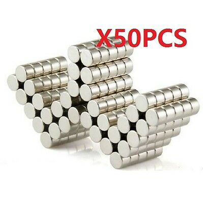 10PCS Super Strong Neodymium Magnets Disc Rare-Earth Fridge Magnet 10X15mm N50
