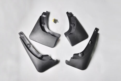 AMOI 4Pcs Mudguards Mud Flap Splash Guard Fender For 2009-2012 Toyota RAV4 2.4L