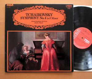 CCV-5036-Tchaikovsky-Symphony-No-4-Charles-Munch-Boston-Symphony-RCA-STEREO-Presque-comme-neuf