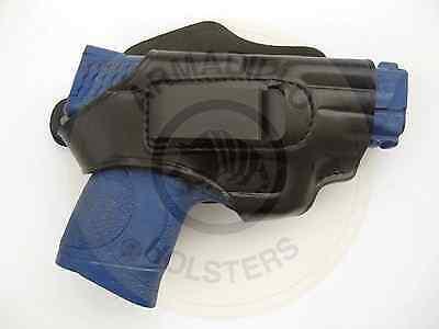 H2BL-43 Armadillo Left Black Leather Belt Holster w//clip Glock 43 42 Models