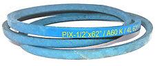 "A60K/4L620K Pix Kevlar Belt Compatible With JOHN DEERE M41642 M842223 (1/2""X62"")"