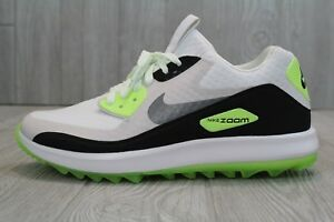 0510bae39d7 30 New Mens Nike Air Zoom 90 IT Golf Shoes White Green 844569-102 ...
