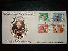 1981 DUKE OF EDINBURGH'S AWARD BENHAM BOCS(2)7 FDC & EDINBURGH SHS CV £25