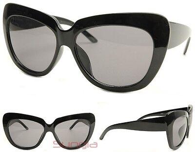 """Genius Child Sunglasses"" BLACK cat eye kitti chelsea oversized valley"