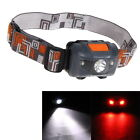 1200LM Mini Super Bright Headlight R3 + 2 LED 4 Mode Headlamp Head Torch Lamp
