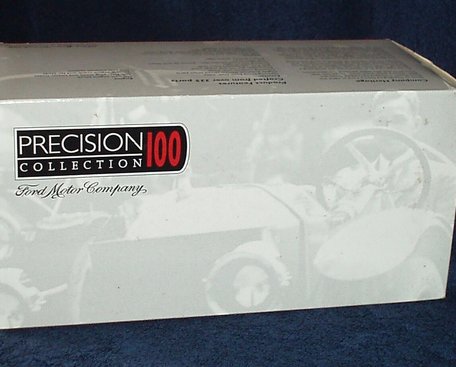 ERTL 1913 FORD MODEL T SPEEDSTER blanc 1 18 VHTF   PRECISION 100  w COA  pas cher et de haute qualité
