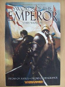 Contemplatif Warhammer Schwarzhelm & Helborg épées De L'empereur Chris Wraight P/arrière Neuf-afficher Le Titre D'origine