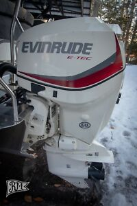 Details about 2017 Evinrude E-Tec 115 HP Outboard Engine