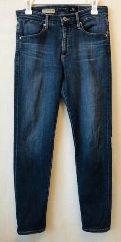 AG High Rise Stevie STRAIGHT ANKLE JEANS 28