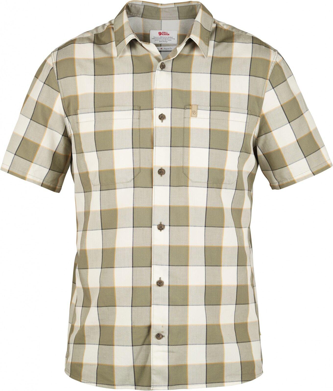 Fjällräven Fjällräven Fjällräven High Coast Big Check Shirt SS Outdoorhemd (chalk-Weiß) 750efb
