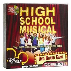 Details about NEW High School Musical DVD Game Best Board Games Adults Kids  Families Teens Fun