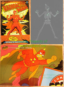 Radioactive-Man-1-w-Poster-amp-Very-Cool-Glow-In-The-Dark-Cover-EXCELLENT-Copy