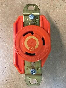 S L on 3 Phase Twist Lock Receptacle Hubbell