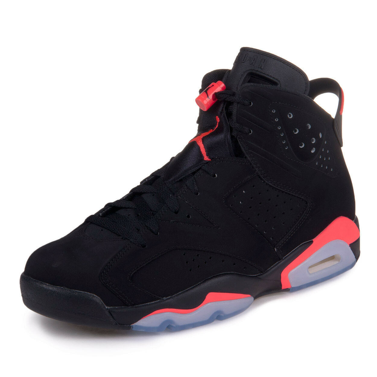 Nike Mens Air Jordan 6 Retro  Infrared  Black Infrared 23  384664-023