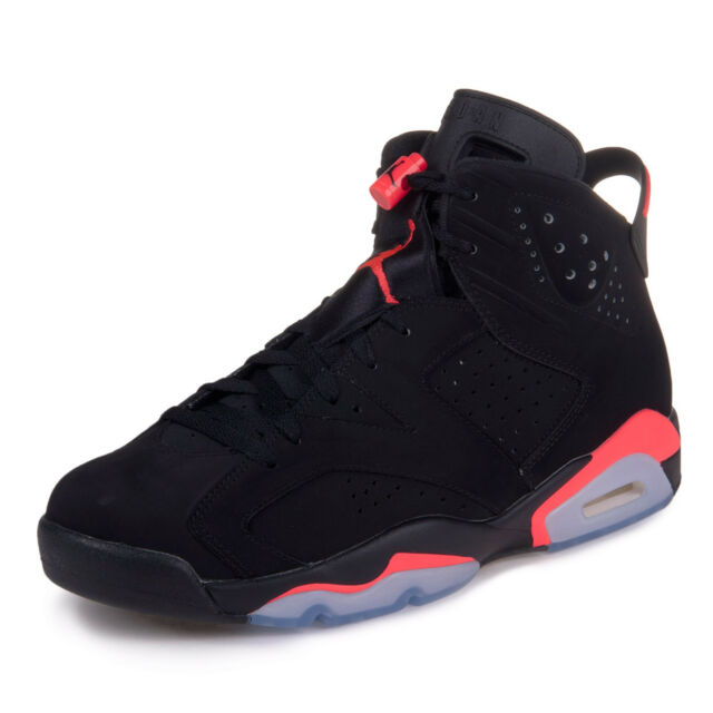 7fe787734f2a67 Nike Air Jordan 6 VI Retro 2014 Black Infrared Mens Sizes 100 ...