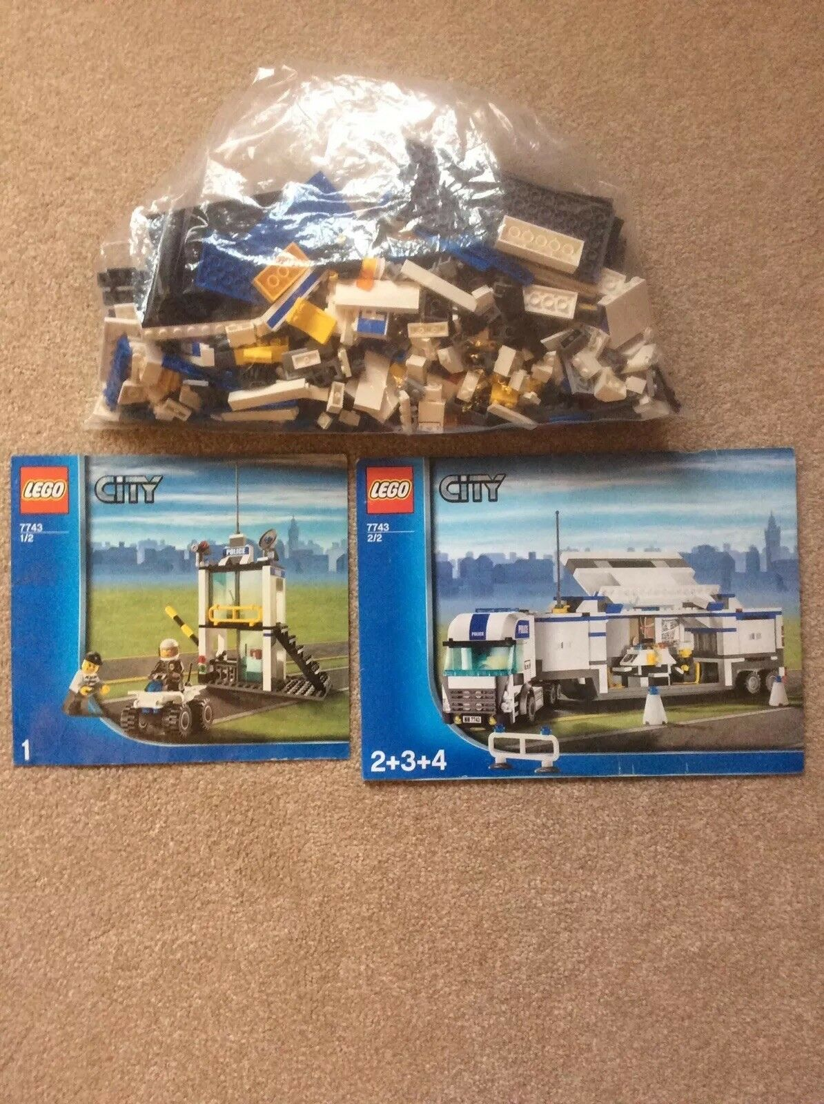 Lego City Police Command Centre 7743