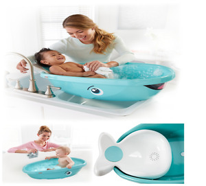 Image Is Loading Baby Bathtub Whale Bath Tub Infant Newborn Bathing