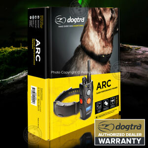 Dogtra-ARC-Remote-Dog-Training-Collar-Rechargeable-3-4-Mile-Expandable-Warranty