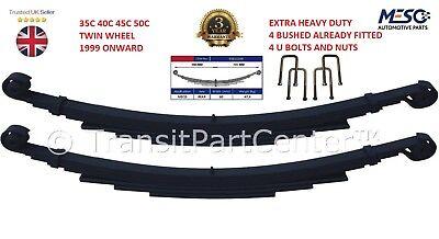 Instancabile Coppia Di Heavy Duty 5+3 = 8 Molla A Balestra Posteriore Iveco Daily 35c 40c 45c 50c Twin Wheel-