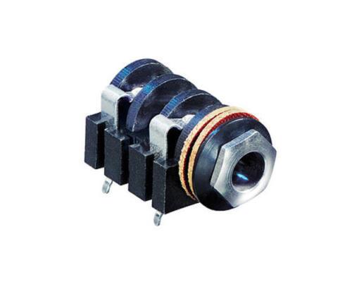 "Stereo Jack Socket PCB Audio 0.25/"" 1//4/"" 3.5mm Mono Re/'an Neutrik 6.35mm"