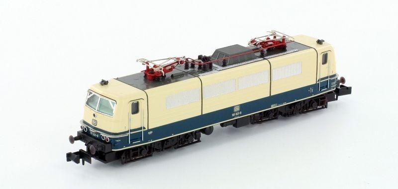 Hobbytrain N 2881 E-Lok BR 181 001 DB Ep. IV, CREMA-BLU NUOVO
