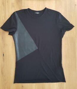 ShirtSchwarz LederGrMTop ZustandEbay Herren Zara Pu Mit T Y6gb7mvIfy
