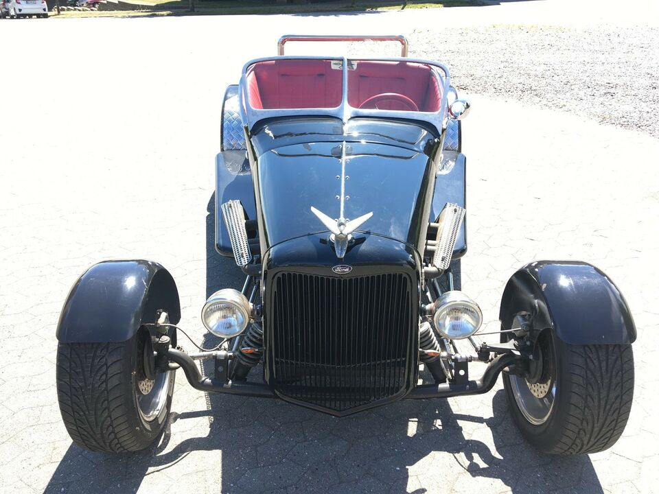 Ford A, 3,3 Roadster, Benzin