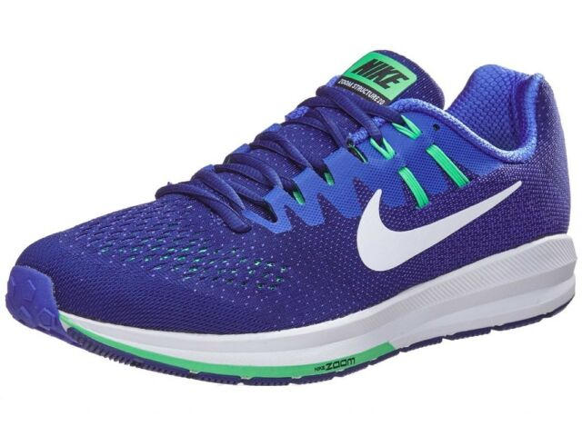 Nike Air Zoom Structure 20 849576 402 Mens Running Shoes Blue & White