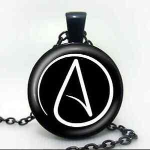 Atheist symbol atom chain pendant necklace atomic whirl religious image is loading atheist symbol atom chain pendant necklace atomic whirl aloadofball Choice Image