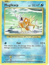 POKEMON XY EVOLUTIONS CARD - MAGIKARP 33/108