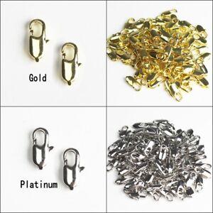 Wholesale-Lots-Gold-Platinum-Lobster-Clasps-for-Necklace-Bracelet-DIY