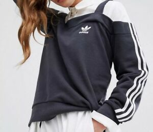 Originals Sweatshirt Crew Off Uk12 Sho Gr 38 Adidas sweatjacke Womens dH1SAdq