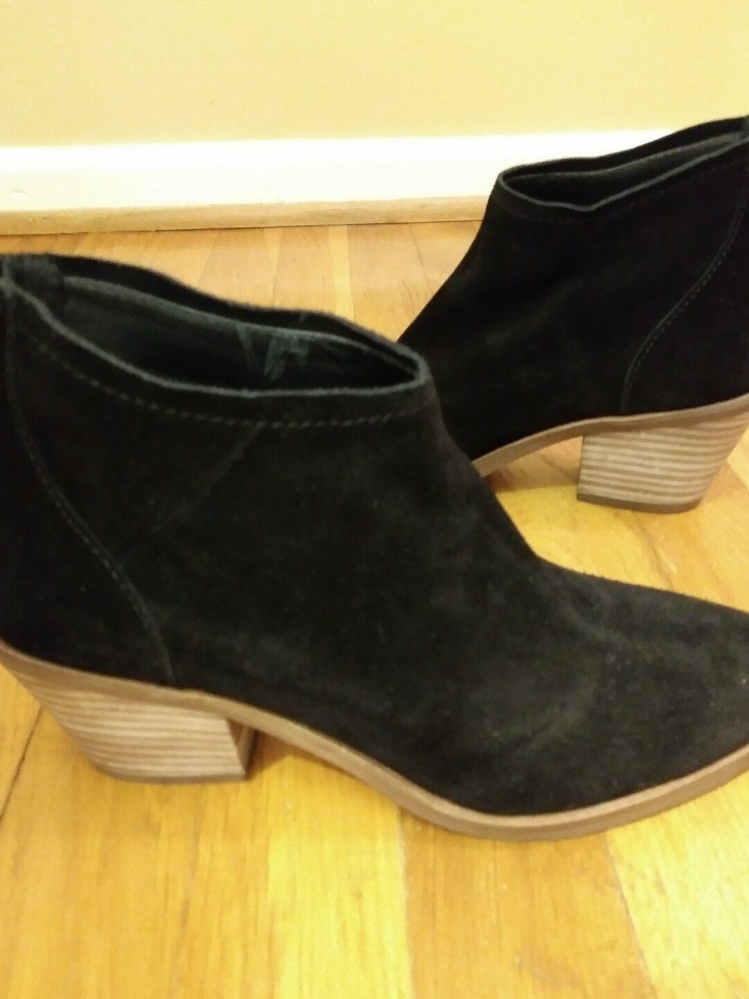 Dolce Vita Black Suede Elisa Bootie Sz. 7-Brand New For Fall, Great Price!!