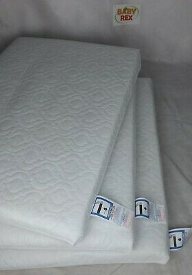 140 x 70 x 13 Made in UK Super Soft Cot Bed Mattress Extra Thick and Cushy
