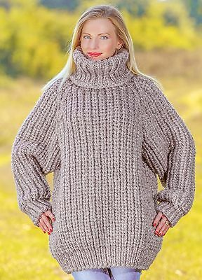 c58f76b02327d Mega thick and heavy hand knitted sweaters and coats by SuperTanya ...