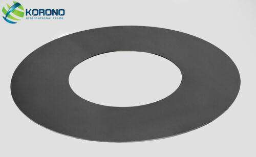 Grillplatte Feuerplatte mit Loch Ø 102 cm 50 cm für Korono-Feuerschalen  Stahl