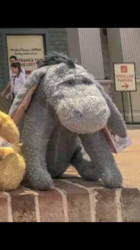 Winnie The Pooh Christopher Robin Movie EEYORE Plush Disney Parks NEW NWT