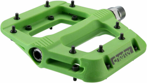 "RaceFace Chester Pedals Platform Composite 9//16/"" Green"