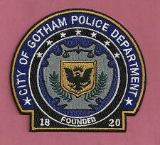 GOTHAM CITY POLICE PATCH 1820 BATMAN