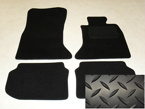 BMW 5 Series GT F07 2010-on Fully Tailored Deluxe Rubber Car Mats in Black