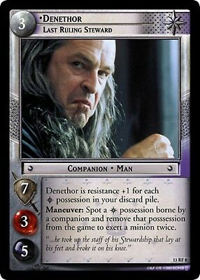 LOTR TCG Orc Crusher 13RF11 Bloodlines Lord of the Rings MINT FOIL