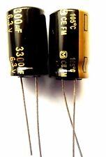 3300uf 6.3v 105C Low ESR Size 12.5mmx20mm Panasonic EEUFM0J332  x2pcs