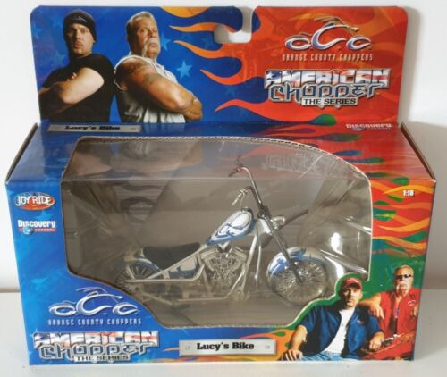 1:18 Scale Orange County Choppers Lucy/'s Bike Custom Chopper OCC #78915