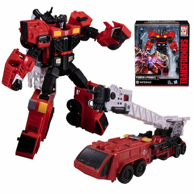Transformers Voyager Class Inferno Power of the Primes New Sealed 2017