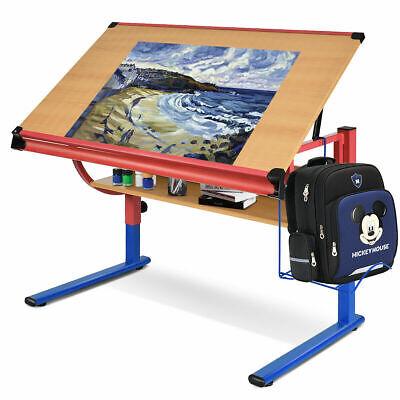Adjustable Drafting Table Workstation Drawing Desk Art Amp Craft Hobby Studio New 6940350848324 Ebay