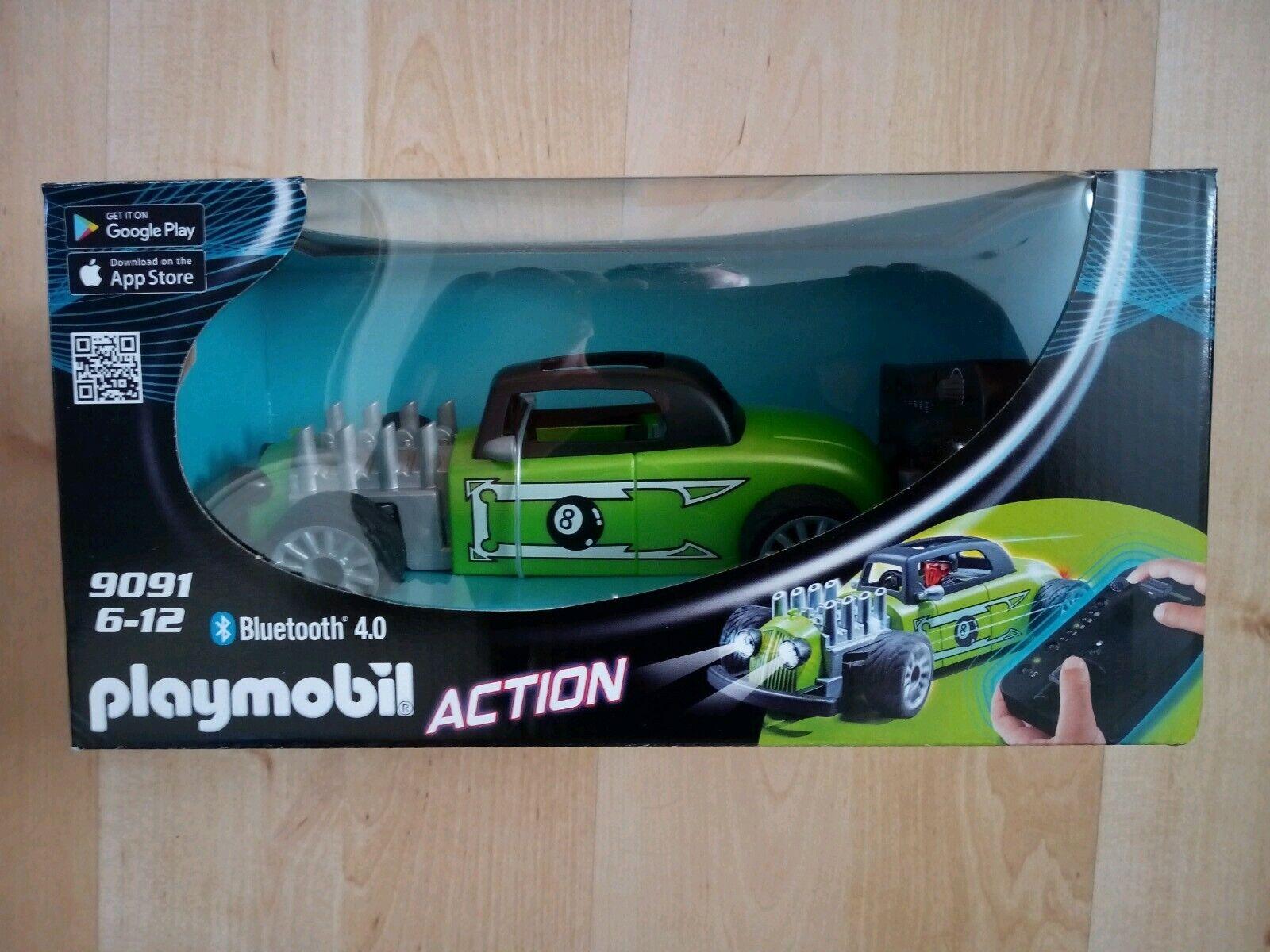 PLAYMOBIL 9091 RC Romote Control ROCK N ROLL RACER Car