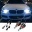 thumbnail 1 - BMW H8 100W CREE LED Angel Eyes Halo Rings Upgrade Light Bulbs Marker Kit 6000K