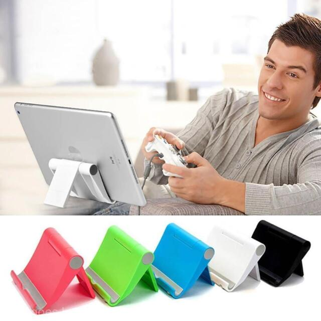 Universal Cell Phone Tablet Desktop Stand Desk Holder Mount Cradle Aluminium New